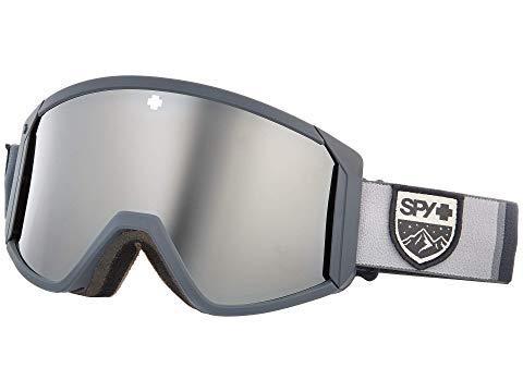 SPY OPTIC スポーツ アウトドア ウインタースポーツ スキー スノーボード アクセサリー ゴーグル ユニセックス 【 Raider 】 Colorblock Gray - Hd Bronze W/ Silver Spectra Mirror + Hd Ll Per