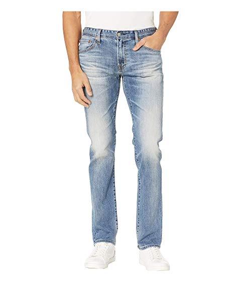 【海外限定】スリム デニム パンツ メンズファッション 【 SLIM MATCHBOX STRAIGHT LEG DENIM PANTS IN 21 YEARS SEIZE 】