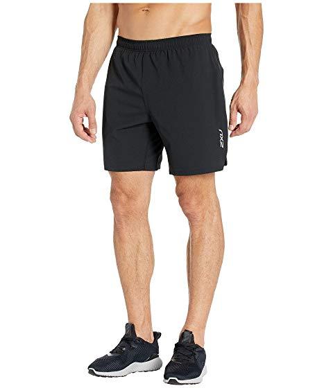 """ツータイムズユー 2XU 7"""" 【 XVENT SHORTS BLACK REFLECTIVE X 】 メンズファッション ズボン パンツ 送料無料"""