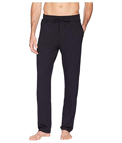 【★スーパーセール中★ 6/11深夜2時迄】HANRO リラックス メンズファッション ズボン パンツ メンズ 【 Living Relax Long Pants 】 Black