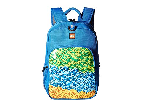 LEGO クラシック バックパック バッグ リュックサック キッズ ベビー マタニティ ランドセル ジュニア 【 Brick Waterfall Heritage Classic Backpack 】 Blue
