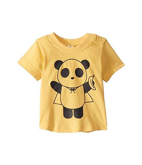 HUXBABY Tシャツ 【 SUPER PANDA TSHIRT INFANT TODDLER BANANA 】 キッズ ベビー マタニティ ベビー服 ファッション 送料無料