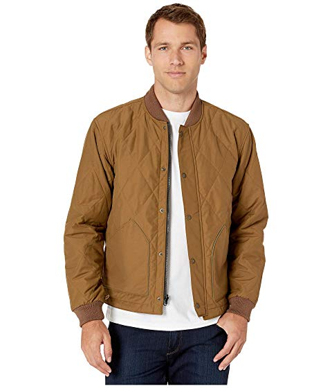 FILSON 【 FILSON QUILTED PACK JACKET TAN 】 メンズファッション コート ジャケット