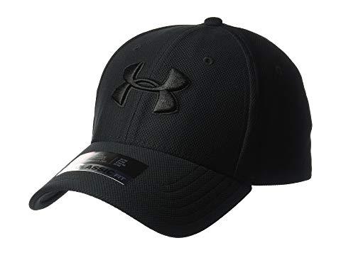 アンダーアーマー UNDER ARMOUR キャップ キャップ 帽子 黒 ブラック 3.0 【 BLACK UNDER ARMOUR BLITZING CAP 】 バッグ  キャップ 帽子 メンズキャップ 帽子