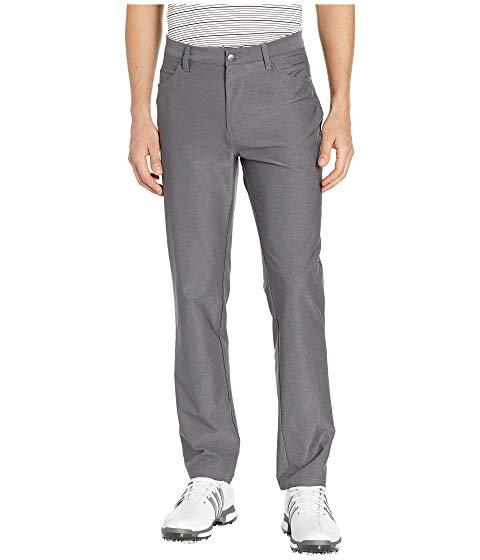 【★スーパーセール中★ 6/11深夜2時迄】アディダスゴルフ ADIDAS GOLF アルティメイト ヘザー メンズファッション ズボン パンツ メンズ 【 Ultimate Heather Five-pocket Pants 】 Grey Three Heather