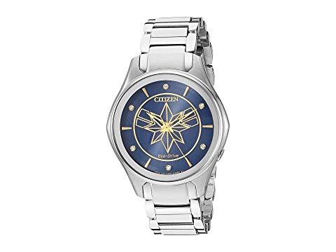 シチズンウオッチ CITIZEN WATCHES 銀色 シルバー 【 SILVER CITIZEN WATCHES CAPTAIN MARVEL EM059658W TONE 】 腕時計 レディース腕時計