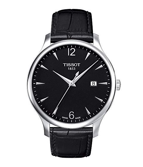 TISSOT 黒 ブラック 【 BLACK TISSOT TCLASSIC TRADITION T0636101605700 】 腕時計 メンズ腕時計
