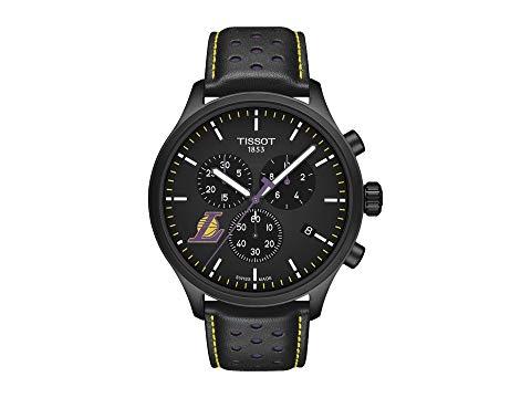 TISSOT レイカーズ 黒 ブラック 紫 パープル 【 LAKERS BLACK PURPLE TISSOT CHRONO XL NBA CHRONOGRAPH LA T1166173605103 】 腕時計 メンズ腕時計