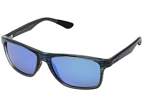 MAUI JIM バッグ 眼鏡 メンズ 【 Onshore 】 Blue Black Stripe Fade/blue Hawaii