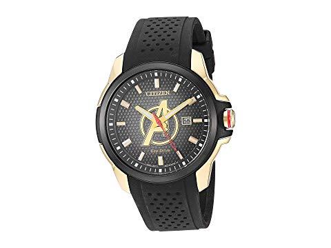 シチズンウオッチ CITIZEN WATCHES 黒 ブラック 【 BLACK CITIZEN WATCHES AVENGERS AW115503W 】 腕時計 メンズ腕時計