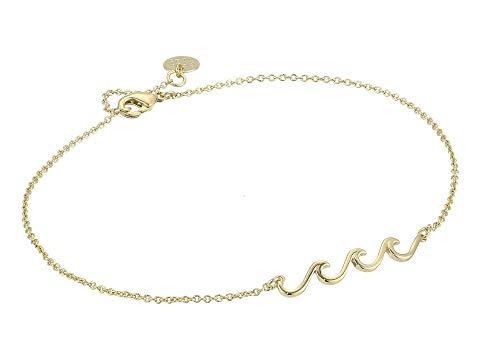 PURA VIDA ウェーブ ウェイブ ジュエリー アクセサリー レディースジュエリー レディース 【 Delicate Wave Anklet 】 Gold