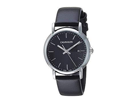 カルバンクライン CALVIN KLEIN ステンレス 銀色 スチール 黒 ブラック 【 BLACK CALVIN KLEIN ESTABLISHED K9H231C1 STAINLESS STEEL 】 腕時計 レディース腕時計