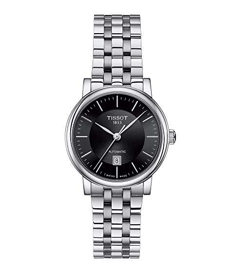 TISSOT プレミアム 黒 ブラック 【 PREMIUM BLACK TISSOT TCLASSIC CARSON AUTOMATIC LADY T1222071105100 】 腕時計 レディース腕時計