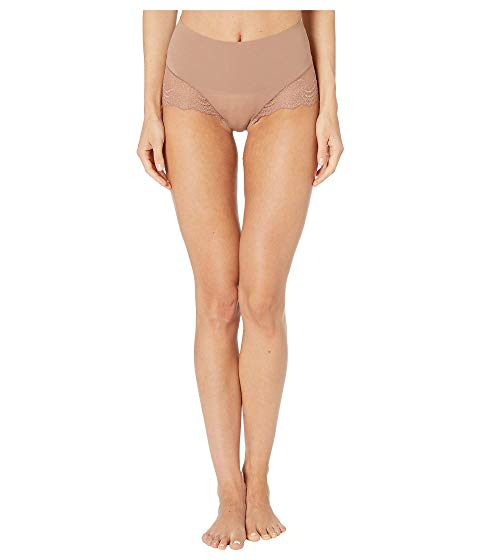 SPANX 【 SPANX UNDIETECTABLE LACE HIHIPSTER PANTY CAFE AU LAIT 】 インナー 下着 ナイトウエア レディース