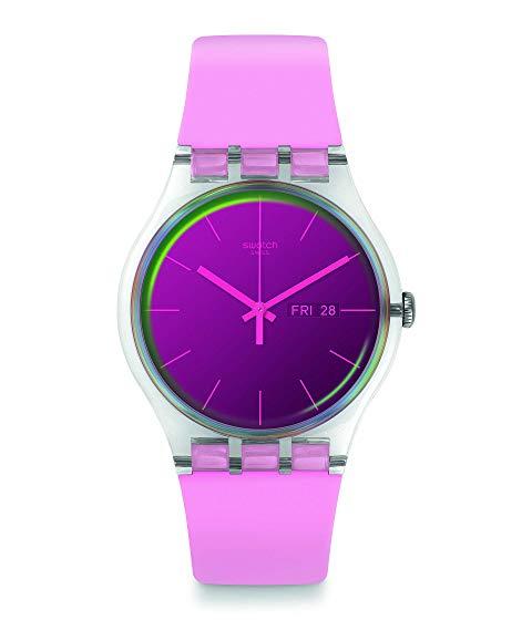 SWATCH ピンク 【 PINK SWATCH POLAROSE SUOK710 】 腕時計 レディース腕時計