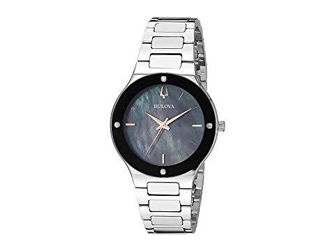 ブローバ BULOVA モダン 銀色 スチール 【 BULOVA MODERN 96R231 STEEL 】 腕時計 レディース腕時計