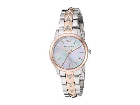 MICHAEL KORS ローズ 金色 ゴールド 銀色 シルバー 【 ROSE SILVER MICHAEL KORS MK6717 RUNWAY MERCER GOLD 】 腕時計 レディース腕時計