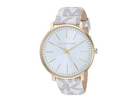 MICHAEL KORS 白 ホワイト 【 WHITE MICHAEL KORS MK2858 PYPER 】 腕時計 レディース腕時計