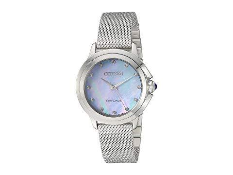 シチズンウオッチ CITIZEN WATCHES 【 CITIZEN WATCHES EM079055N CECI SILVERTONE 】 腕時計 レディース腕時計