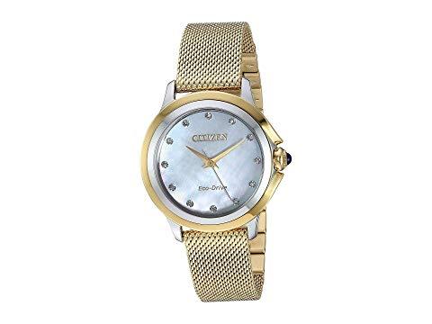 シチズンウオッチ CITIZEN WATCHES 【 CITIZEN WATCHES EM079454D CECI GOLDTONE 】 腕時計 レディース腕時計