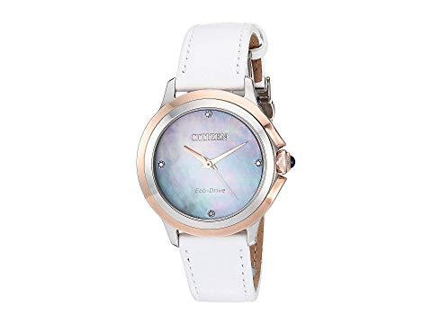 シチズンウオッチ CITIZEN WATCHES 白 ホワイト 【 WHITE CITIZEN WATCHES EM079608Y CECI 】 腕時計 レディース腕時計