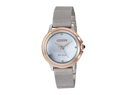 シチズンウオッチ CITIZEN WATCHES 【 CITIZEN WATCHES EM079659Y CECI SILVERTONE 】 腕時計 レディース腕時計