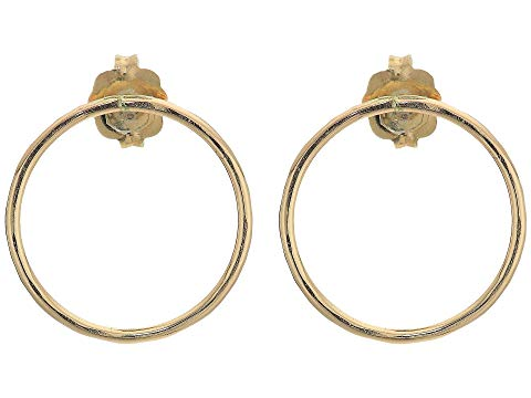 ABLE 【 HAMMERED CIRCLE EARRINGS GOLD 】 ジュエリー アクセサリー レディースジュエリー 送料無料