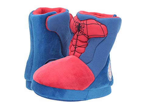 FAVORITE CHARACTERS ブーツ SPIDERMAN? 【 SLIPPER BOOT SPF257 TODDLER LITTLE KID RED 】 キッズ ベビー マタニティ ベビー服 ファッション 送料無料