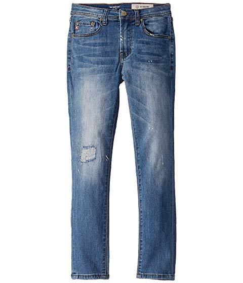 AG ADRIANO GOLDSCHMIED KIDS 青 ブルー 【 BLUE THE KINGSTON SKINNY IN FAZE BIG 】 メンズファッション ズボン パンツ 送料無料