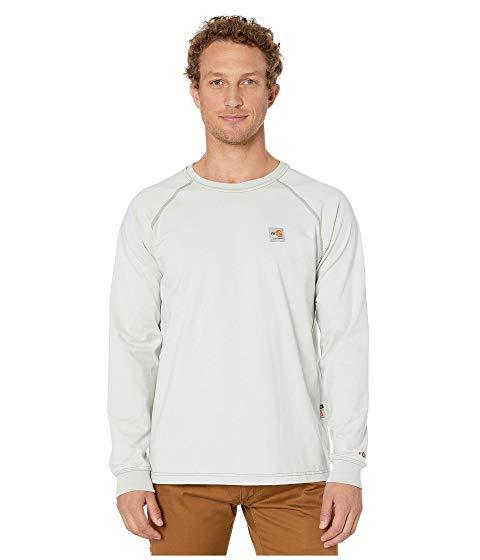 カーハート CARHARTT スリーブ Tシャツ メンズファッション トップス カットソー メンズ 【 Flame-resistant (fr) Force Long Sleeve T-shirt 】 Light Gray