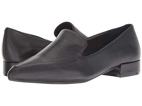 KENNETH COLE NEW YORK 【 CAMELIA LOAFER BLACK LEATHER 】