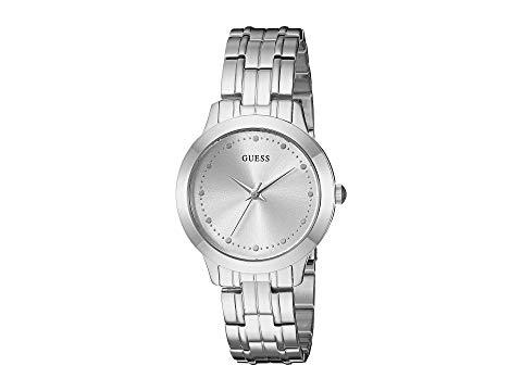 GUESS 銀色 シルバー 【 SILVER GUESS U0989L1 】 腕時計 レディース腕時計