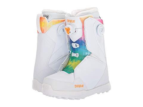 THIRTYTWO ブーツ レディース 【 Lashed Double Boa Snowboard Boot 】 White