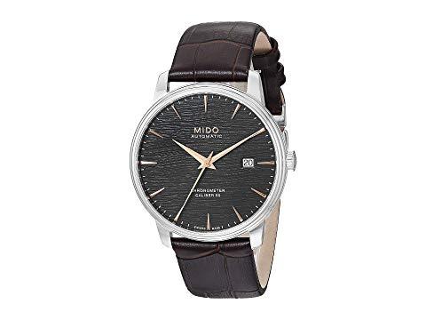 MIDO 黒 ブラック 【 BLACK MIDO BARONCELLI CHRONOMETER SILICON M0274081606100 】 腕時計 メンズ腕時計