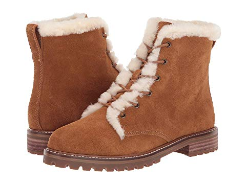MADEWELL ブーツ レディース 【 Levi Lace-up Boot 】 Equestrian Brown Suede