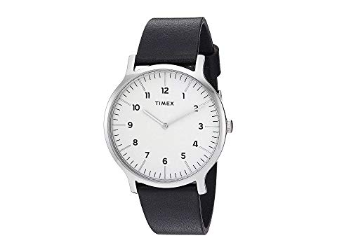 【★スーパーセール中★ 6/11深夜2時迄】TIMEX 腕時計 メンズ腕時計 メンズ 【 40 Mm Norway 3-hand 】 Silver/white/black