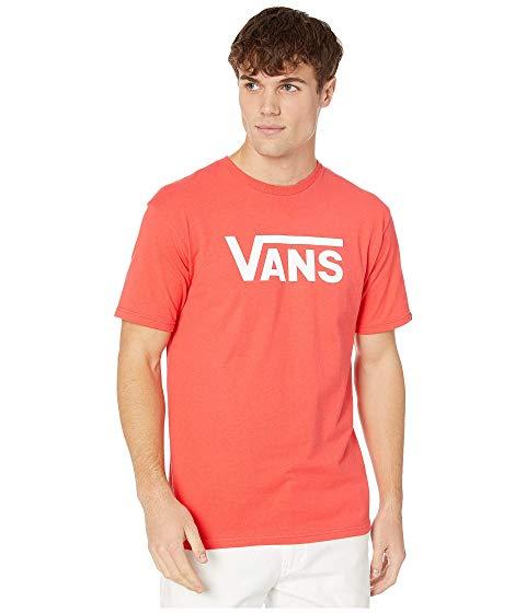 バンズ VANS クラシック 【 CLASSIC TEE HIBISCUS WHITE 】 メンズファッション トップス Tシャツ カットソー 送料無料