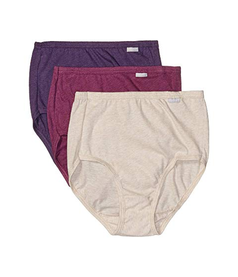 JOCKEY Elance・・ インナー 下着 ナイトウエア レディース 【 Elance・・ Brief 3-pack 】 Oatmeal Heather/boysenberry Heather/perfect Purple Heather