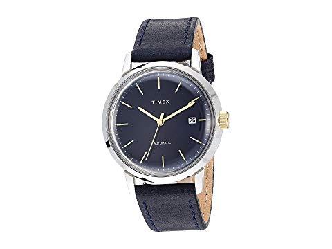 TIMEX タイメックス 銀色 シルバー 紺 ネイビー 【 SILVER NAVY TIMEX MARLIN AUTOMATIC 】 腕時計 メンズ腕時計