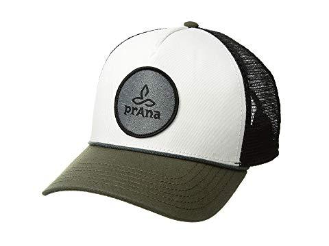 PRANA トラッカー バッグ キャップ 帽子 メンズキャップ ユニセックス 【 Organic Cotton Patch Trucker 】 Cargo Green