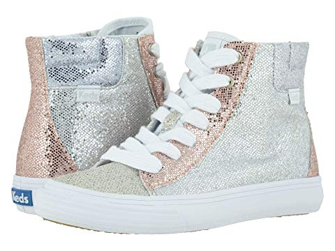 KEDS KIDS ハイ キッズ ベビー マタニティ ジュニア 【 Double Up High Top (little Kid/big Kid) 】 Color Block Sparkle