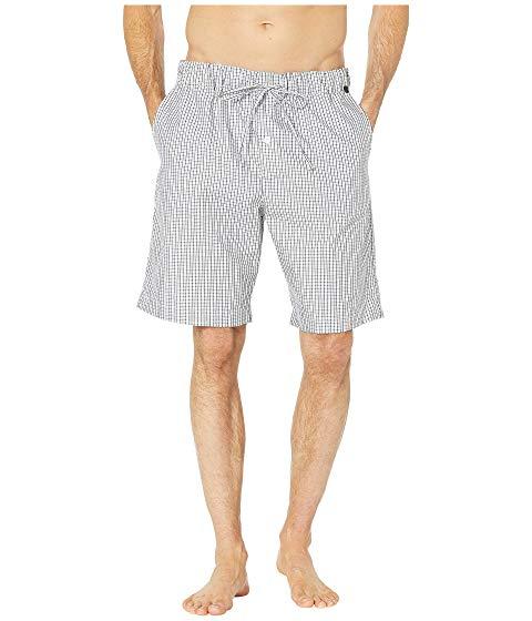 【★スーパーセール中★ 6/11深夜2時迄】HANRO ナイト ウーブン メンズファッション ズボン パンツ メンズ 【 Night And Day Short Woven Pants 】 Basic Shaded Check