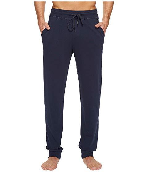 【★スーパーセール中★ 6/11深夜2時迄】HANRO メンズファッション ズボン パンツ メンズ 【 Living Lounge Pants 】 Black Iris