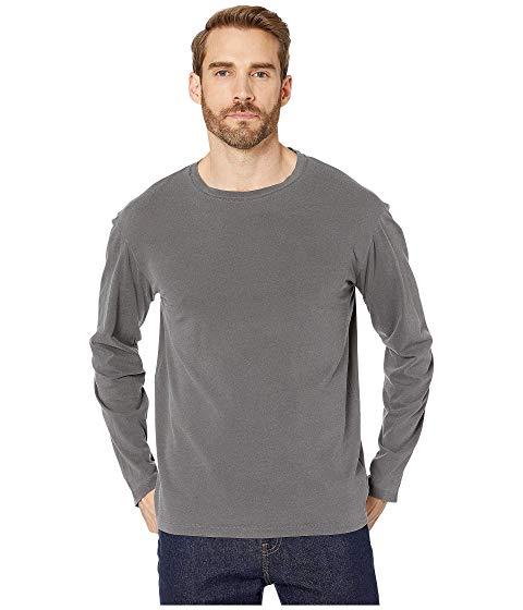 MOD-O-DOC スリーブ チャコール 【 SLEEVE MODODOC EL SEGUNDO LONG CREW CHARCOAL 】 メンズファッション トップス Tシャツ カットソー