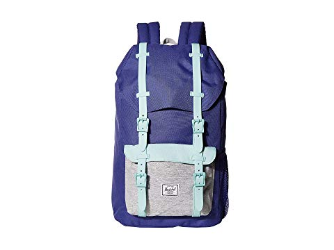 HERSCHEL SUPPLY CO. KIDS 子供用 キッズ ベビー マタニティ バッグ ランドセル ジュニア 【 Little America Youth (youth) 】 Orient Blue/light Grey Crosshatch/eggshell Blue