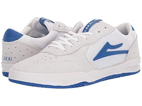 LAKAI スニーカー メンズ 【 Atlantic 】 White/blue Suede