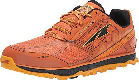 アルトラフットウエア ALTRA FOOTWEAR 橙 オレンジ スニーカー 【 ORANGE ALTRA FOOTWEAR LONE PEAK 4 LOW RSM BURNT 】 メンズ スニーカー