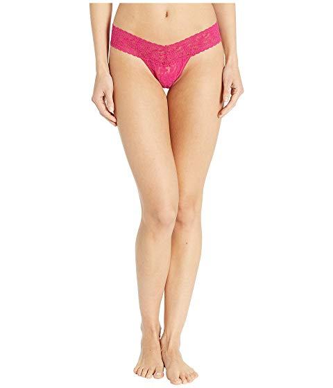 HANKY PANKY ライズ インナー 下着 ナイトウエア レディース 【 Signature Lace Low Rise Thong 】 Venetian Pink