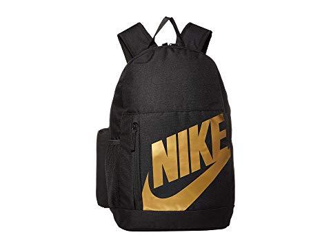 ナイキ キッズ NIKE KIDS バックパック バッグ リュックサック キッズ ベビー マタニティ ランドセル ジュニア 【 Elemental Backpack (little Kids/big Kids) 】 Black/black/metallic Gold