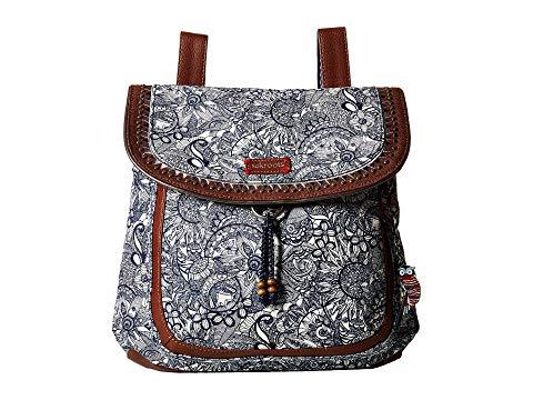 SAKROOTS バックパック バッグ リュックサック レディース 【 Artist Circle Convertible Backpack 】 Navy Spirit Desert